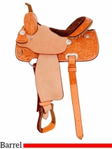 "14"" to 16"" Billy Cook Classic Barrel Racing Saddle 2031"