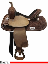 "** SALE ** 14"" 15"" Billy Cook Connie Combs Barrel Saddle 291233"