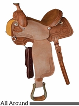 "** SALE ** 14"" 15"" Courts Saddlery Miss Rodeo America All Around Saddle 4273MAN"