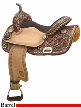 "15"" Tex Tan Barrel Saddle 292238VP"