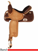 "14"" 15"" Tex Tan Champion Racer Barrel Saddle 292203"