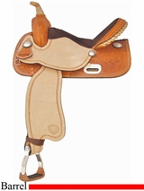 "14"" 15"" Tex Tan Finals Champ Barrel Saddle 292218"