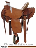 "14.5"" to 16"" Billy Cook Hard Seat Wade Saddle 2189"
