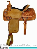 "14.5"" to 16"" Crates Classic Team Roper Half Breed Roughout 9120"