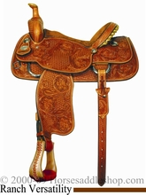 "14.5"" to 15.5"" Crates Light Ladies Versatility Saddle 2274"