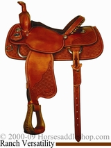"** SALE **14.5"" to 15.5"" Crates Light Ladies Versatility Saddle 2275"