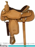 "14.5"" 15.5"" 16"" Billy Cook Arena Roping Saddle 10-2146"