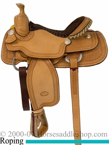 14.5inch 15inch or 16inch Billy Cook Arena Roping Saddle 10-2146