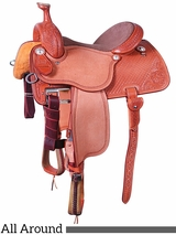 "13.5"" to 17"" Martin Saddlery High Plains All Around Saddle mr14MDS"