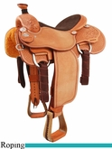 "14.5"" 15"" Martin Saddlery Joe Beaver Calf Roper mr63AOW"