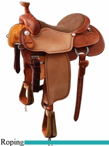 "14.5"" 15"" Martin Saddlery RG Ricky Green Team Roper mr25DFMB"
