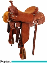"13.5"" to 17"" Martin Saddlery XT Team Roper Saddle mr16MB"