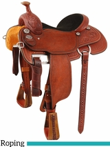 "13.5"" to 17"" Martin Saddlery XT Team Roper Saddle mr16PFW"