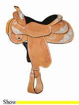 "14.5"" to 17"" Circle Y Aurora Select Show Saddle 2956 *free gift*"