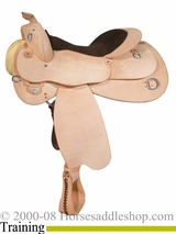 "14.5"" to 17"" Circle Y Roughout Training Saddle 1439"