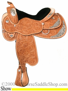"14.5"" to 17"" Circle Y Del Ray Premium Flex2 Show Saddle 3682 *free pad or cash discount*"