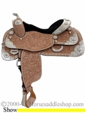 "** SALE **14.5"" 16"" 17"" Silver Mesa Elite Show Saddle SM1003 *FREE SADDLE PAD OR CASH DISCOUNT!*"
