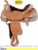 "14.5"" Billy Cook Youth Show Saddle #10-3290"