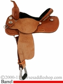 "14.5"" Cactus NBHA Barrel Racing Saddle scanbha"