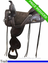 "14.5"" Circle Y Cloud Peak Tree Free Trail Saddle 1300"