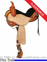 "14.5"" Circle Y Kenny Harlow Complete Competitor Flex2 Saddle 5625"