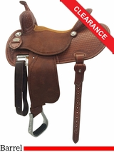 14.5 Martin Saddlery FX3 Barrel Racing Saddle mr67TW CLEARANCE