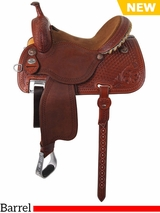 "** SALE ** 12.5"" to 15.5"" Martin Saddlery Sherry Cervi Crown C Custom Barrel Racer 97-C2"