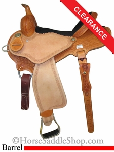 "SOLD 2014/06/17 $1395 14.5"" Reinsman Barrel Racer 4201"