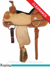 "14.5"" Reinsman Team Roper Saddle 4403"