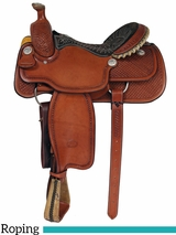 "** SALE ** 14.5"" to 16"" Billy Cook Arena Roping Saddle 2147"