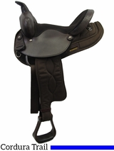 "13"" 14"" Big Horn Synthetic Nylon Saddle 103"