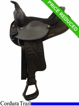 "14"" Big Horn Synthetic Nylon Saddle 103"