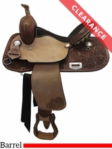 "14"" Billy Cook Connie Combs Barrel Saddle 291233 CLEARANCE"