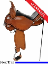 "14"" Circle Y Harlow Complete Competitor Flex2 Trail Saddle 5626 CLEARANCE"