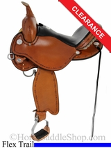 "14"" Circle Y Harlow Complete Competitor Flex2 Trail Saddle 5626"