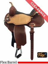 "14"" Circle Y Lisa Lockhart Ambition Flex2 Barrel Saddle 1550 CLEARANCE"