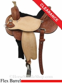 "SOLD 2014/07/10 $1665 14"" Circle Y Lisa Lockhart Dynamo Flex2 Barrel 1545"