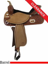 "14"" Circle Y The Proven Rush Barrel Racer 3029 CLEARANCE"