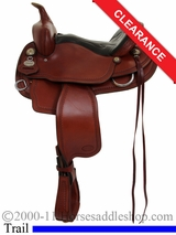 "SOLD 2014/12/01 $1295 14"" Crates Light Ladies Trail Saddle 2120"