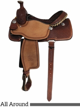 "** SALE ** 14"" to 16"" Billy Cook Ladies All Around Saddle 2040"