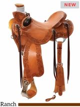 "14"" to 16.5"" Reinsman Lady Wade Ranch Saddle 4612 w/Free Pad"