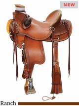 "** SALE ** 14"" to 16.5"" Reinsman Wade Ranch Saddle 4614 w/Free Pad"