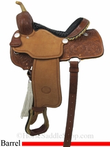 "14"" to 16"" Billy Cook Pro Barrel Racing Saddle 1410"