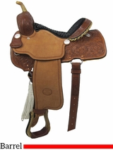 """** SALE ** 14"""" to 16"""" Billy Cook Pro Barrel Racing Saddle 1410"""