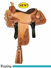 """14"""" to 16"""" Circle Y Mike Johnson Sportline Calf Roper 1505 *free gift*"""