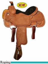 "14"" to 16"" Circle Y Xtreme Performance UC Calf Roper Saddle 1253"