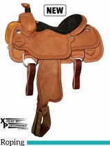 "14"" to 16"" Circle Y Xtreme Performance UC Calf Roper Saddle 1253 w/Free Pad"