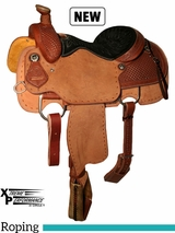 "14"" to 16"" Circle Y Xtreme Performance Tierney All Around Roper Saddle 1254 w/Free Pad"