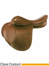 "** SALE ** 14"" to 16"" Kincade Child's Leather Close Contact Saddle 746002"