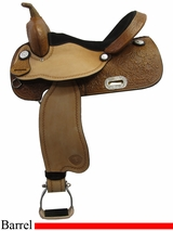 "14"" to 16"" Tex Tan Barrel Chaser Barrel Saddle 292223"